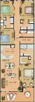 Adagio 4 bedroom floor plan in A B and C buildings